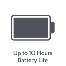 10hr battery icon