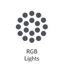 RGB lights icon